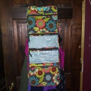 Vera Bradly Travel Cosmetics Bag